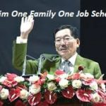 Application form One Family One Job Scheme Sikkim