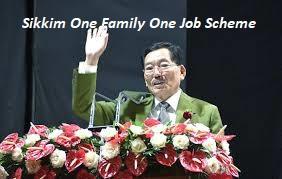 Sikkim One Family One Job Scheme