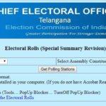 Telangana Election Voter List