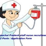 HP staff nurse recruitment 732 Posts। Application Form