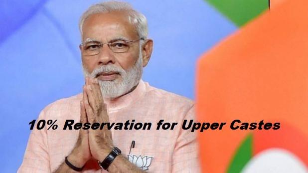 10% Reservation for Upper Castes