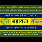 राजस्थान प्रसूति सहायता योजना 2020  Prasoti Shayata Yojana Rajasthan