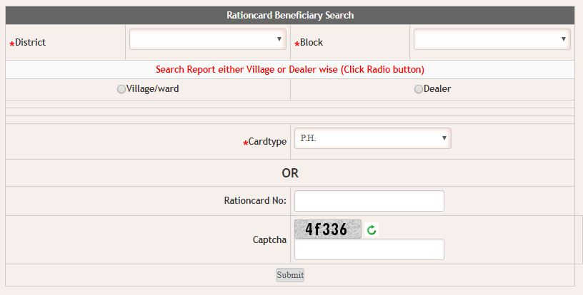 BENEFICIARY SEARCH RESULTS.