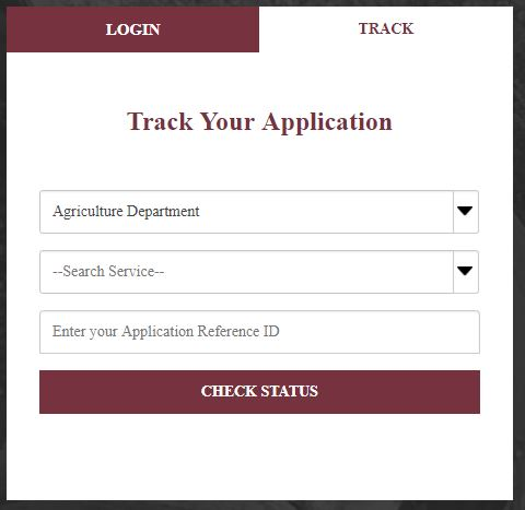 Track Your Application