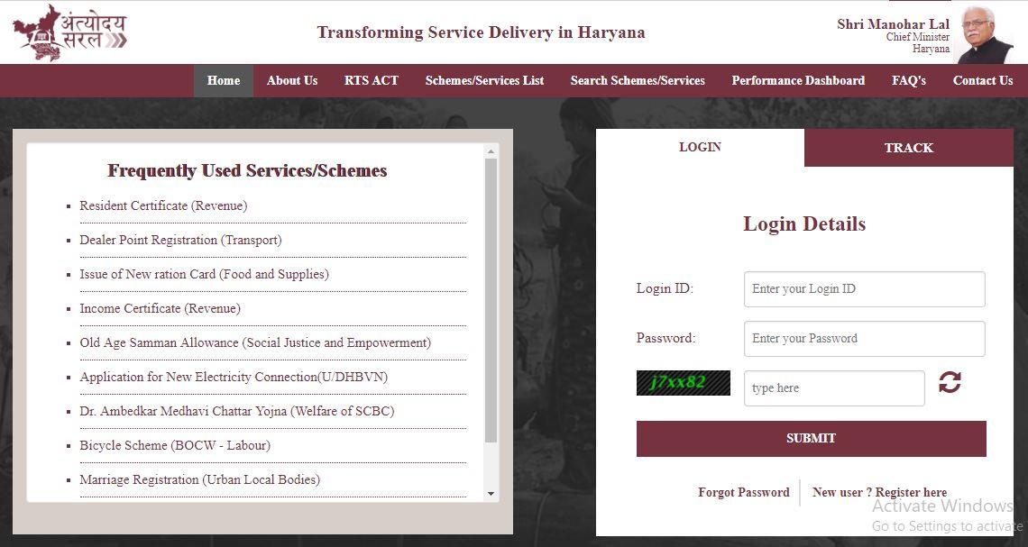 Transforming Service Delivery in Haryana 1