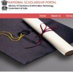 national scholarship portal registration application form