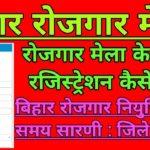 बिहार रोजगार मेला 2020 | Application Form Bihar Rojgar Mela 2020