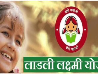 Application form Ladli Laxmi Yojana Madhya Pradesh