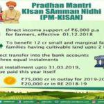 Online Application Form Karnataka PM Kisan Samman Nidhi Yojana एप्लीकेशन फॉर्म कर्नाटक किसान सम्मान निधि योजना