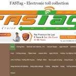 FASTag Application form फास्टैग इलेक्ट्रॉनिक टोल कलेक्शन
