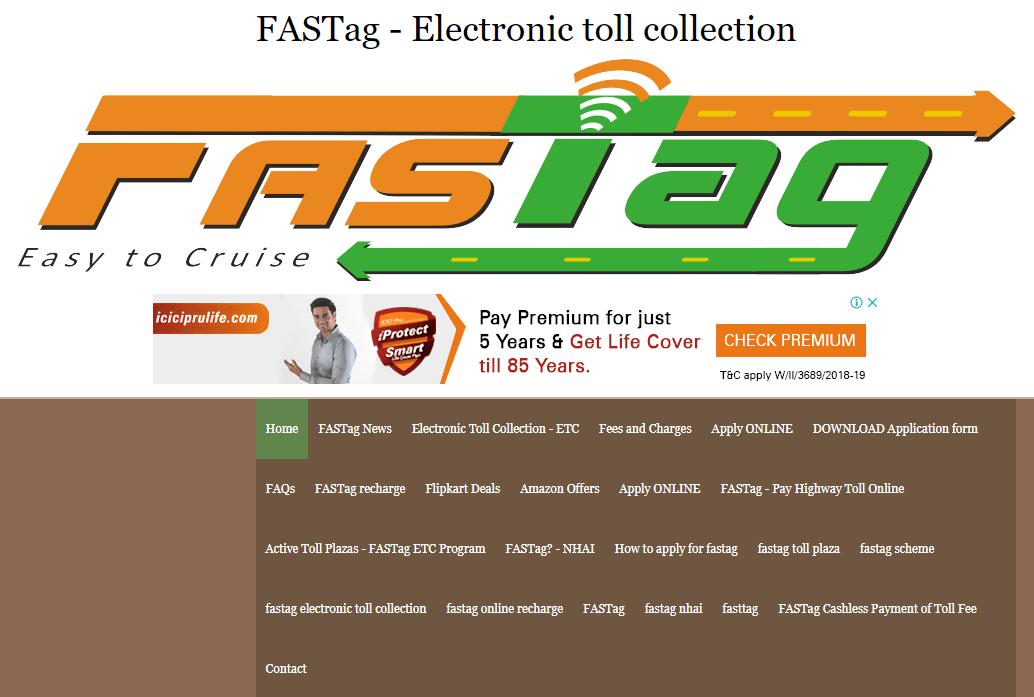 FASTag SEO