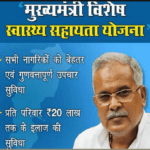 CG Vishesh Swasthya Sahayta Yojana Application form