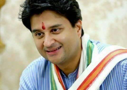 Jyotiraditya Madhavrao Scindia