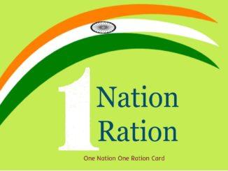 Ek Desh Ek Ration Card Scheme