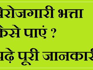 Online Form Berojgari Bhatta Yojana Harayana