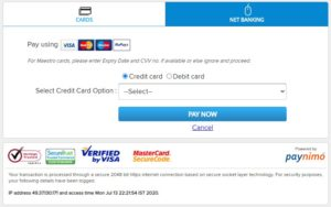 Electricity Online Payment mode