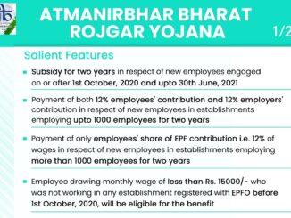 Aatmnirbhar Bharat Rozgar Yojana